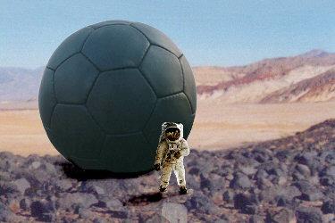 mars landing with balloons - photo #37