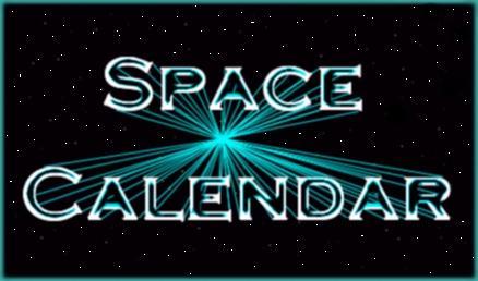 Space Calendar graphic