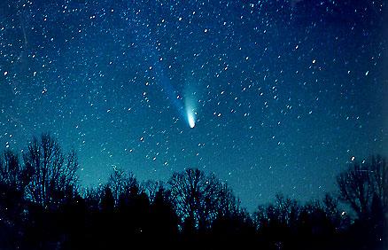 Acomb Images of Comet Hale-Bopp