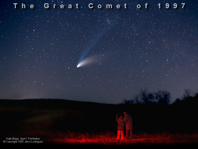 Lodriguss Image of Comet Hale-Bopp