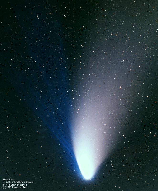 nasa comet tracking - 662×800