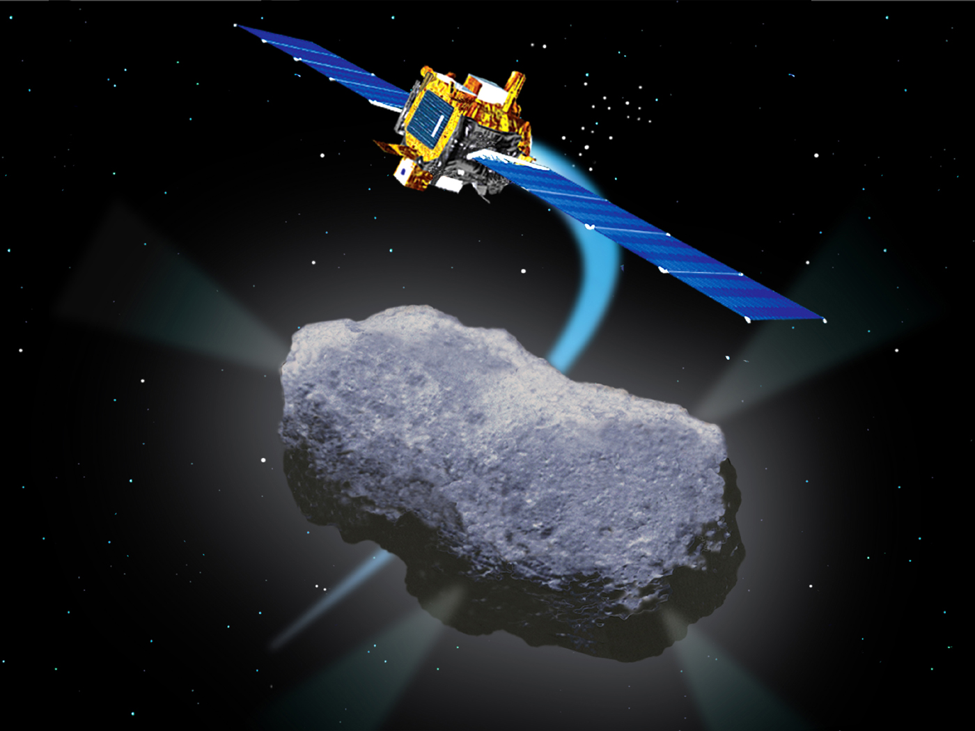 Images and Videos - Deep Space 1's Flyby of Comet Borrelly