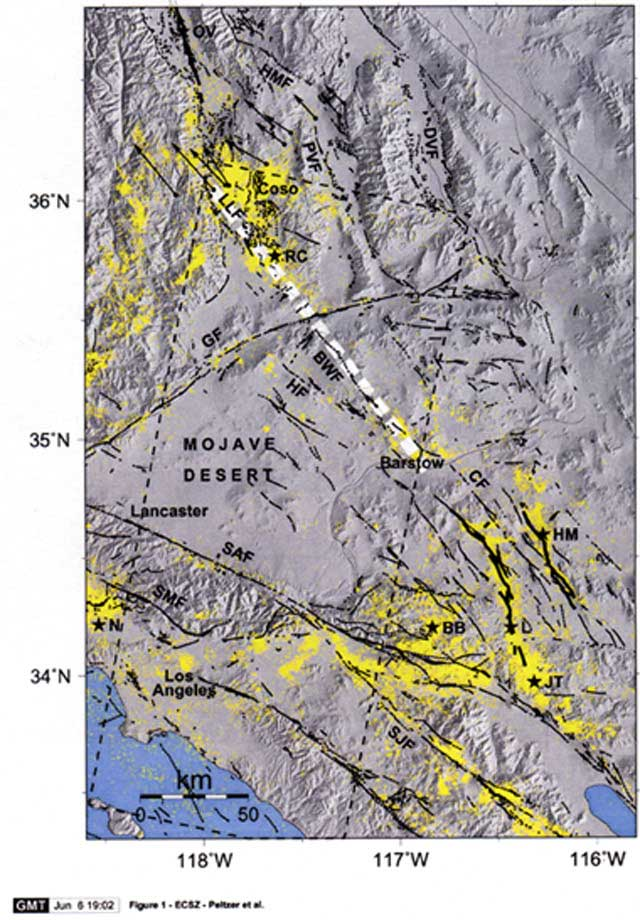 Fault Line In Southern California