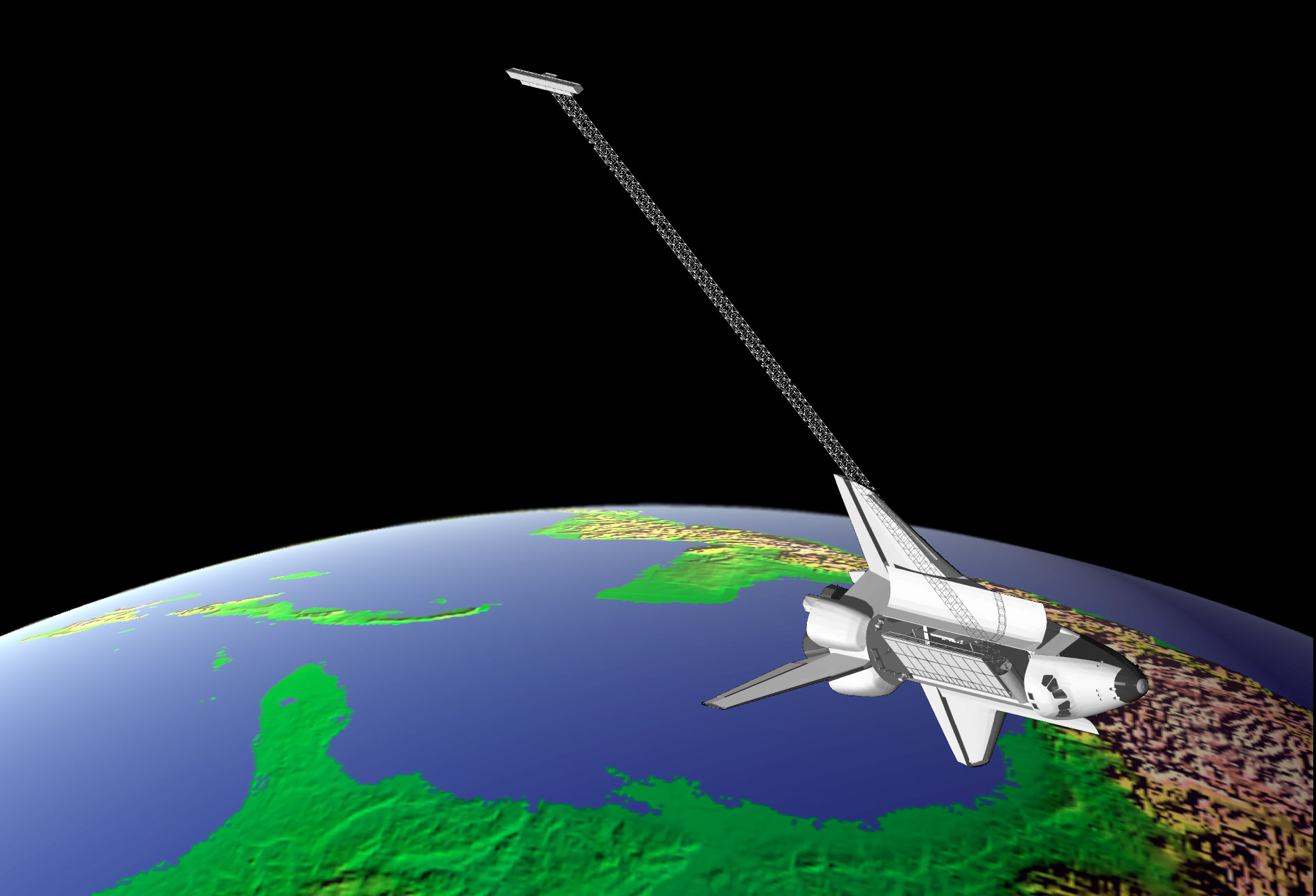 space shuttle radar topography mission - photo #1