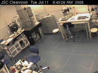 Cleanroom at Johnson Space Center